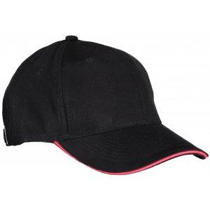 Kšiltovka K-UP ORLANDO BLACK/RED