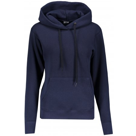 Dámská mikina s kapucí FRUIT OF THE LOOM CLASSIC SWEAT DEEP NAVY