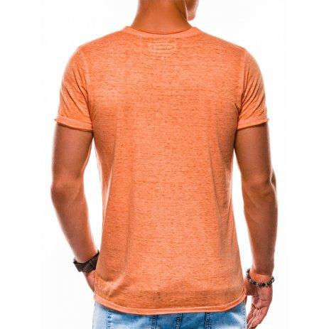 Pánské triko OMBRE AS1148 ORANGE