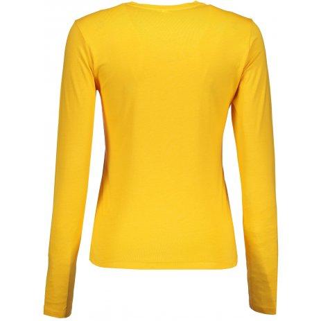 Dámské triko s dlouhým rukávem KARIBAN YELLOW