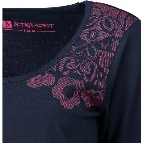 Dámské triko ALTISPORT CRAFTA LTSP601 TMAVĚ MODRÁ