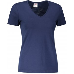 Dámské triko STEDMAN CLASSIC-T V-NECK NAVY BLUE