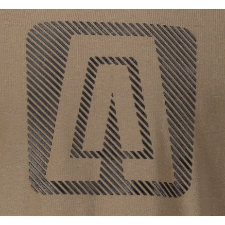 Pánské triko ALTISPORT SIGOM MTSP481 HNĚDÁ