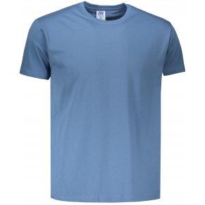Pánské triko JHK REGULAR STEEL BLUE