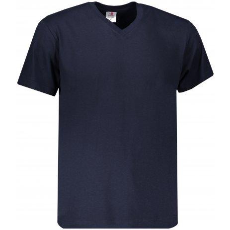 Pánské triko STEDMAN CLASSIC-T V-NECK BLUE MIDNIGHT