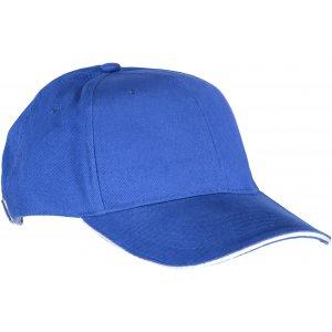 Kšiltovka K-UP ORLANDO ROYAL BLUE/WHITE