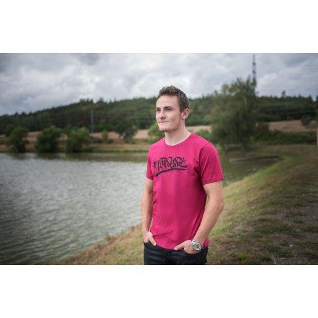 Pánské triko ALTISPORT BRAIS MTSP484 VÍNOVÁ