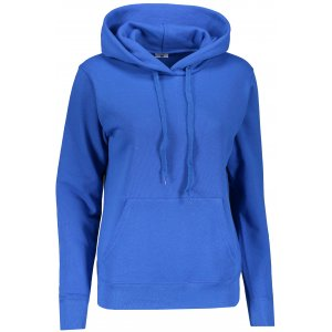 Dámská mikina s kapucí FRUIT OF THE LOOM CLASSIC SWEAT ROYAL BLUE