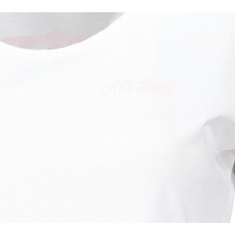 Dámské triko ALTISPORT PAULA LTSP603 BÍLÁ