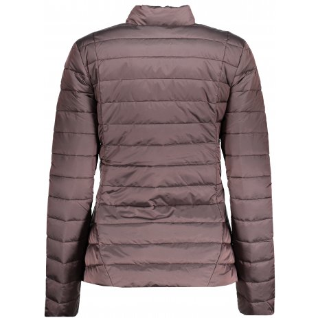 Dámská péřová bunda ALPINE PRO ROZA LJCP349 HNĚDÁ