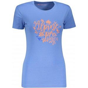 Dámské triko ALPINE PRO UNEGA 6 LTSP505 MODRÁ
