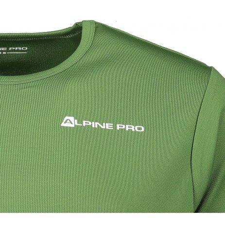 Pánské funkční triko ALPINE PRO OHVICE MTSN496 KHAKI
