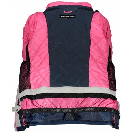 Dámská lyžařská bunda ALPINE PRO SARDARA 3 LJCP352 RŮŽOVÁ