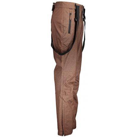 Pánské zimní softshellové kalhoty ALPINE PRO RUBENS MPAP403 HNĚDÁ