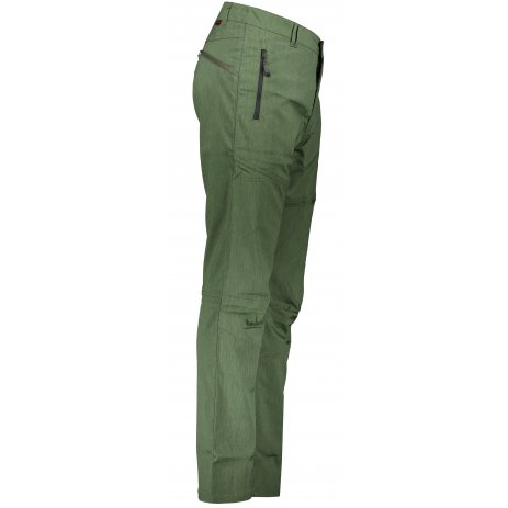 Pánské softshellové kalhoty ALPINE PRO CARB 4 MPAP379 TMAVĚ ZELENÁ