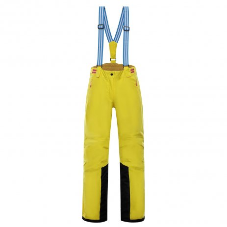 Dámské lyžařské kalhoty ALPINE PRO ANAPA 2 LPAP363 ŽLUTÁ