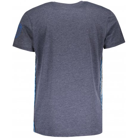 Pánské triko s krátkým rukávem SAM 73 MT 753 TMAVĚ MODRÁ