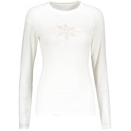 Dámské funkční triko ALPINE PRO TARA LTSP503 BÍLÁ