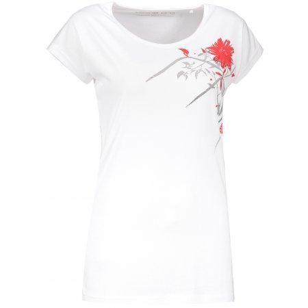 Dámské triko ALPINE PRO KATRA LTSP599 BÍLÁ