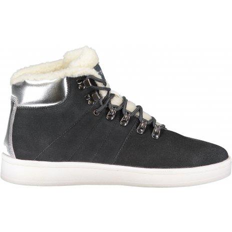 Dámské boty ALPINE PRO MANDELTNA LBTP215 TMAVĚ ŠEDÁ