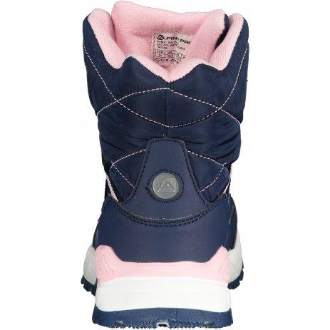 Dětské zimní boty ALPINE PRO SALCHO KBTP203 TMAVĚ MODRÁ