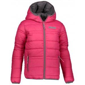 Dětská oboustranná zimní bunda ALPINE PRO SELMO KJCP149 RŮŽOVÁ