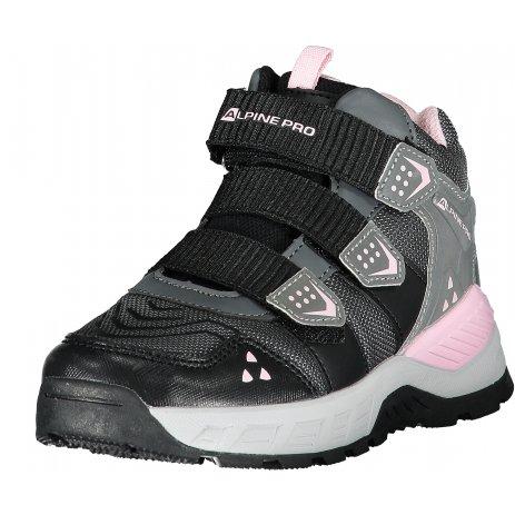 Dětské boty ALPINE PRO GAMBELLO KBTP196 SVĚTLE RŮŽOVÁ