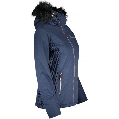 Dámská zimní bunda ALPINE PRO MEMKA 4 LJCP355 TMAVĚ MODRÁ