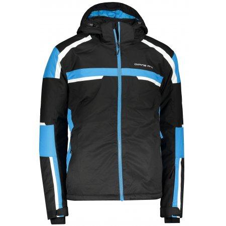 Pánská lyžařská bunda ALPINE PRO DISLAV MJCP405 ČERNÁ