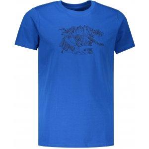 Pánské triko ALPINE PRO UNEG 7 MTSP405 MODRÁ