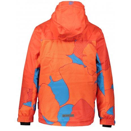 Dětská lyžařská bunda ALPINE PRO INTKO KJCP157 ORANŽOVÁ