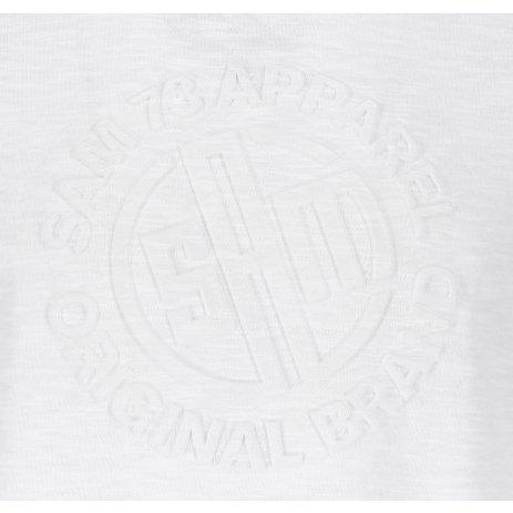 Pánské triko s krátkým rukávem SAM 73 MT 755 BÍLÁ