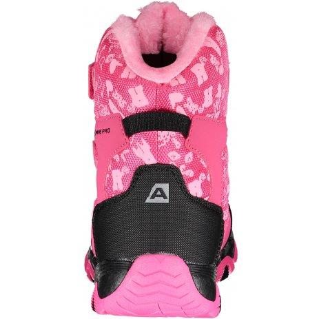 Dětské zimní boty ALPINE PRO GAILO KBTP212 RŮŽOVÁ