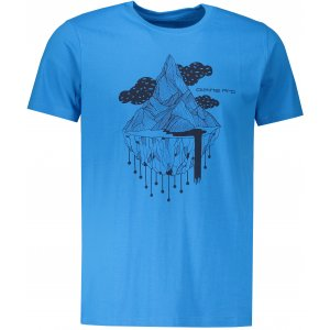 Pánské triko ALPINE PRO WIDER MTSP399 SVĚTLE MODRÁ
