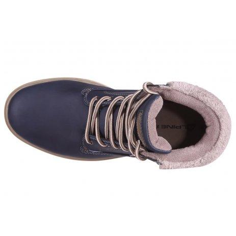 Dámské zimní boty ALPINE PRO LUTAKA LBTP214 TMAVĚ MODRÁ