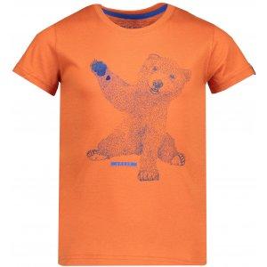 Dětské triko ALPINE PRO IVARO 2 KTSP199 ORANŽOVÁ