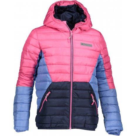 Dětská bunda ALPINE PRO BARROKO 4 KJCP150 RŮŽOVÁ