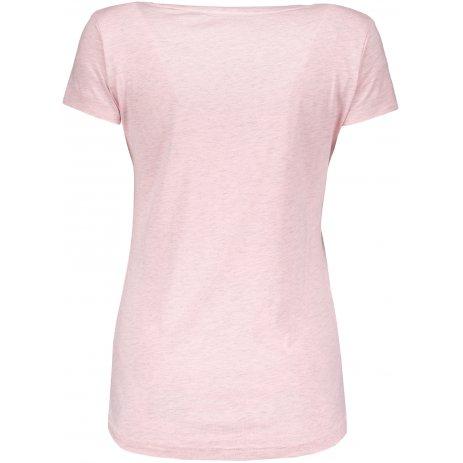 Dámské triko ALPINE PRO BERTHA LTSP510 SVĚTLE RŮŽOVÁ
