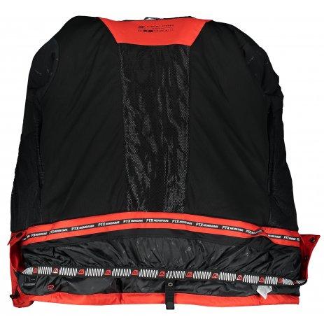 Pánská lyžařská bunda ALPINE PRO MIKAER 3 MJCP368 ČERVENÁ