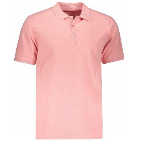 Pánské triko s límečkem ALPINE PRO SIMEON MTSP511 ČERVENÁ
