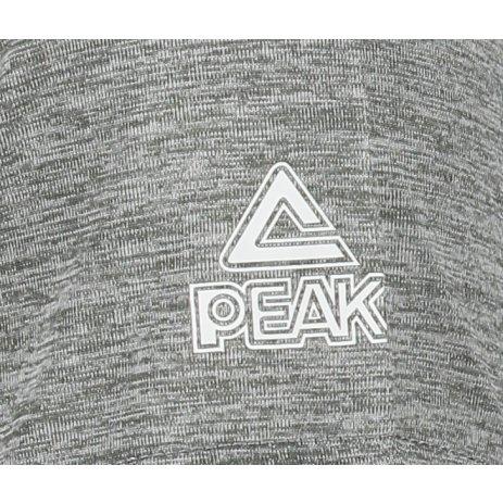 Pánské funkční triko PEAK ROUNT NECK T SHIRT F682097 STŘEDNĚ ŠEDÁ MELANGE