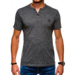 Pánské triko OMBRE AS1047 BLACK
