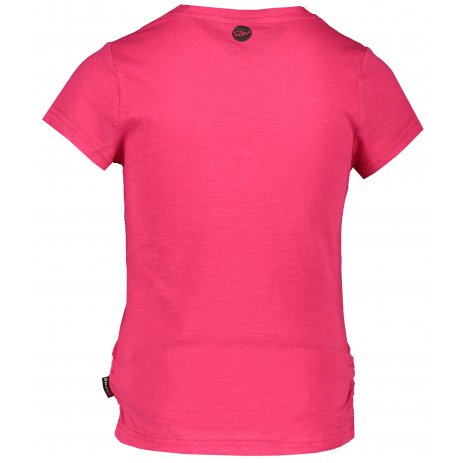 Dívčí triko s krátkým rukávem SAM 73 GT 530 TMAVĚ RŮŽOVÁ