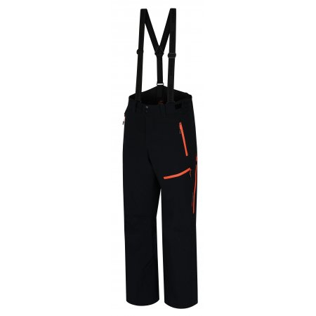 Pánské kalhoty HANNAH AMMAR ANTHRACITE/ORANGE