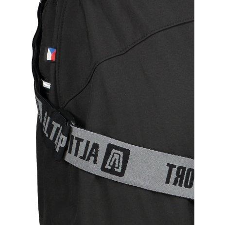 Dámské zimní softshellové kalhoty ALTISPORT MOENA ČERNÁ