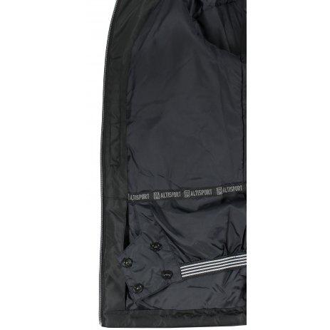 Dámská lyžařská bunda ALTISPORT TYSE ČERNÁ