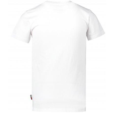 Chlapecké triko s krátkým rukávem SAM 73 KTSP219 BÍLÁ