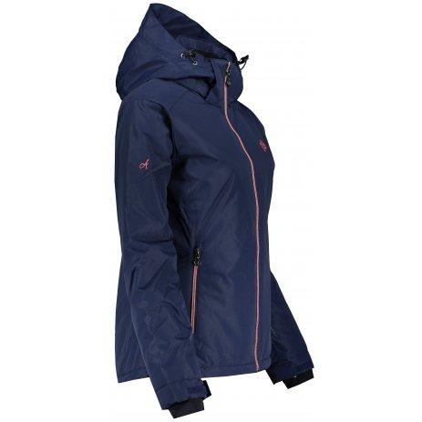 Dámská lyžařská bunda ALTISPORT TYSE TMAVĚ MODRÁ