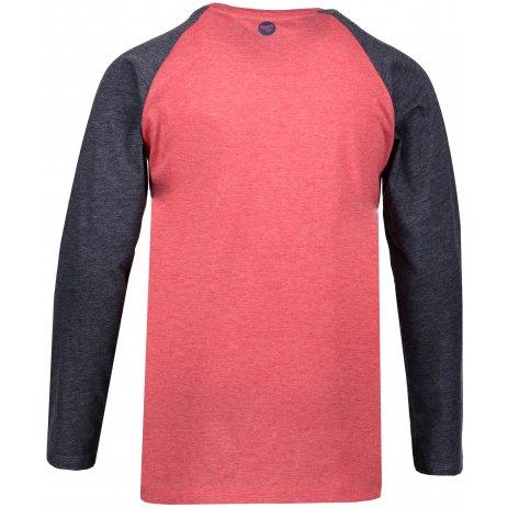 Chlapecké triko s dlouhým rukávem SAM 73 BT 531 ČERVENÁ