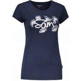 Dámské triko s krátkým rukávem SAM 73 LTSP533 TMAVĚ MODRÁ